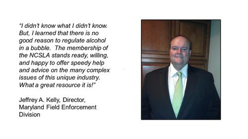 I didnt know what I didnt know.  But, I learned that there is no good reason to regulate alcohol in a bubble.  The membership of the NCSLA stands ready, willing, and happy to offer speedy help and advice on the many complex issues of this unique industry.  What a great resource it is!